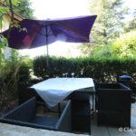 Gite du vivarais terrace