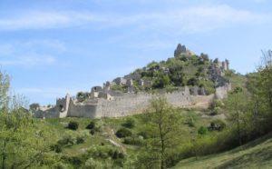 Panorama du Château de Crussol